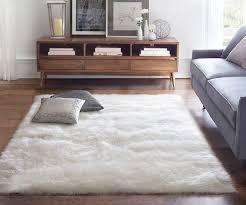 living room rug modern living room design with fluffy white sheepskin room rugs