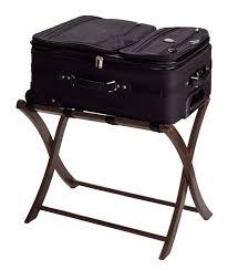 White Bedroom Luggage Rack With Shelf Amazon Com Winsome Wood Luggage Rack Espresso Kitchen U0026 Dining