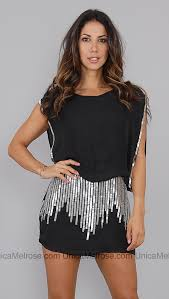 sequin skirt ny black cold shoulder mini dress with silver sequin skirt