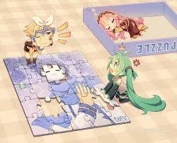 Puzzle Len Vocaloids Kaito Puzzle Len Y Kaito Kaito Vocaloid