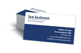 student business card business cards for college students 1324