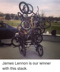 Bmx Meme - 宅 james lennon is our winner with this stack bmx meme on