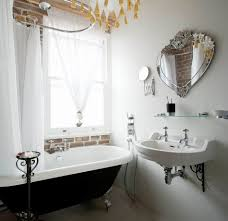 black and white and pink bathroom decor black white striped