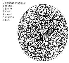 maternelle coloriage magique un traîneau de noël