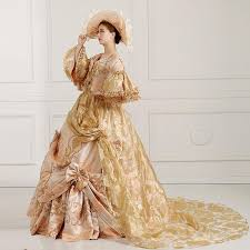 100 real bowknot ruffle medieval dress with hat renaissance gown