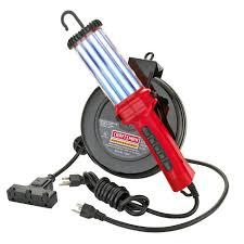 craftsman cord reel with 26 watt fluorescent work light