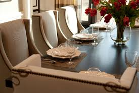 hamptons inspired luxury home dining room robeson design san