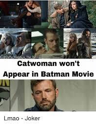 Batman Joker Meme - ig daffa alatas is the batman catwoman won t appear in batman movie