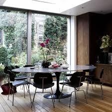 Eero Saarinen Table Eero Saarinen Oval Tulip Table Black Lacquer By Rove Concepts