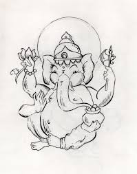 ganesh sketch free download clip art free clip art on