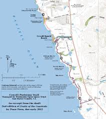california map half moon bay cowell purisima trail opens near half moon bay cartographer s