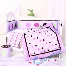 Crib Bedding Set With Bumper 7piecse Baby Crib Bedding Set Quilt Bumper Skirt Fitted Sheet