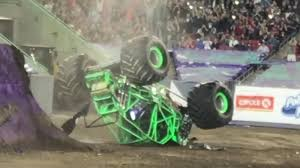 grave digger monster truck schedule dennis anderson recovering after scary crash in the grave digger