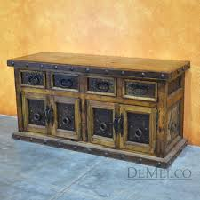 Metal Sideboard Buffet by Rustic Buffet Tables Rustic Dining Set Mexican Furniture