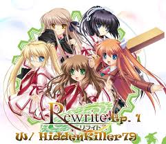 Seeking Capitulo 1 Sub Espaã Ol Rewrite Visual Novel Episode 1 Welcome To Rewrite W