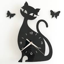 compare prices on wall clock cat online shopping buy low price