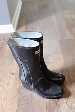 womens wedge boots size 9 high 3 in and up wedge rubber boots for ebay