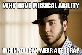 Fedora Guy Meme - clever