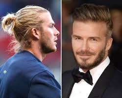 man bun short sides celebrity male hairstyles top knot or flop knot capital