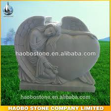 headstone prices cemetery white marble angel headstones prices buy white marble