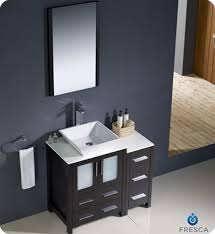 Bathroom Vanity With Side Cabinet Fresca Torino 36