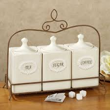 kitchen counter canister sets white ceramic kitchen canisters table sink 2018 and outstanding