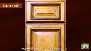 savannah kitchen cabinets by kitchen cabinet kings youtube