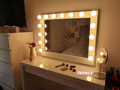 stand alone mirror with lights vanity mirror with lights makeup mirror wall hanging or stand