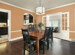 Dining Room Wall Paint Ideas Wall Paint Apricot The Fresh Trend In Wall Design In 40 Exles
