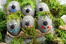 how to make easter eggs frugal foodie mama rock troll easter eggs