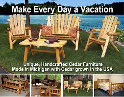 Log Outdoor Furniture by Moon Valley Rustic Log Furniture Quality Log Furniture For The