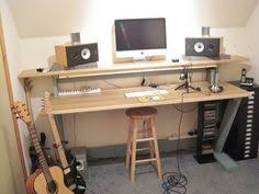 Home Recording Studio Desk Plans This Is A Custom Studio Desk For Jeff Please Review The Specs