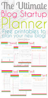 social media planner the ultimate blog startup planner free printables lamberts lately