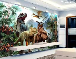 3d Murals by High Quality Customize Size Modern Large 3d Stereo Dinosaur Murals