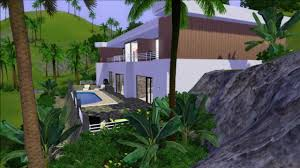Modern Hill House Designs Sims 3 House Design House On The Hill Youtube