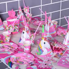 unicorn party supplies unicorn party supplies pack party decoration for children kids