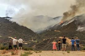 Wildfire Honey by Devastating Photos Show The Wrath Of Largest Wildfire In Los