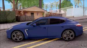 porsche car 4 door porsche panamera turbo 2009 for gta san andreas