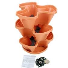 amazon com garden stacker planter indoor culinary herb garden