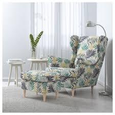 Ikiea by Strandmon Wing Chair Nordvalla Dark Gray Ikea