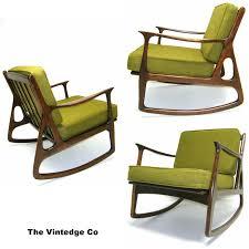 mid century rocking chair baxton studio agatha midcentury modern
