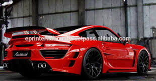 porsche 911 kit for porsche 911 997 anibal wide arch carbon fiber kit