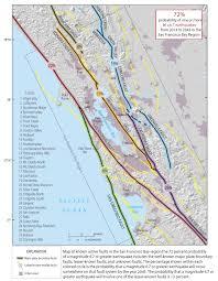 Bay Area Map Earthquake Report Berkeley Ca Hayward Fault Jay Patton Online
