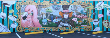 weekending local giveaway alice and wonderland wall final