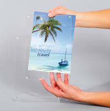 pr駸entoir bureau présentoir de bureau en plexiglas pour flyerprésentoirs bureaux et
