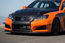 lexus isf bumper lexus brings is f ccs r to the u s to compete in the pikes peak