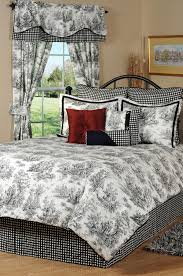 jamestown black u0026 white toile daybed bedding comforter set