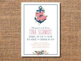 nautical bridal shower invitations nautical bridal shower invitation bridal shower invitation