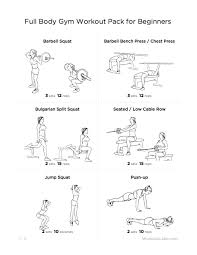 Bench Press For Beginners Full Body Gym Workout Pack For Beginners W Jpg