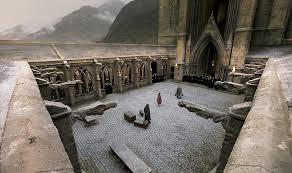 harry potter entrance to hogwarts youtube